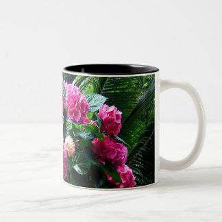 Radiant Pinks Two-Tone Coffee Mug