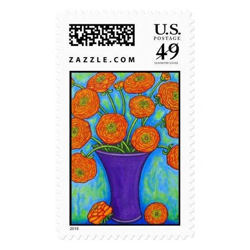 Radiant Ranunculus Stamp
