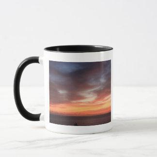 Radiant Red and Orange Sunset Sky Mug