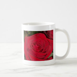 Radiant Red Rose Coffee Mug