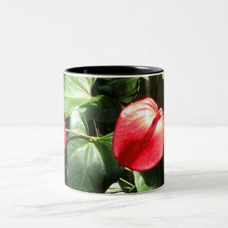 Radiant Red Two-Tone Coffee Mug