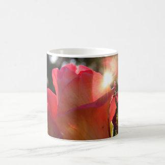 Radiant Rose Morphing Mug