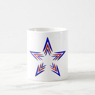 radiant star coffee mug