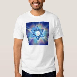 Radiant Star of David Shirts