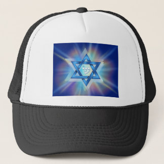 Radiant Star of David Trucker Hat