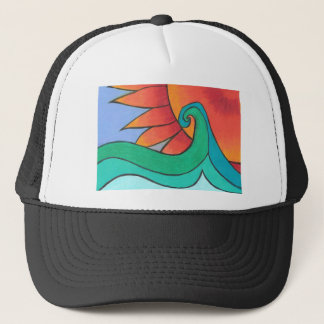 Radiant Sunset Trucker Hat