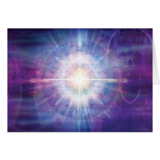 Radiant Violet Screen Card