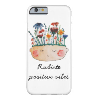 Radiate Positive Vibes Phone Case