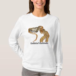 Radiated Ratsnake Ladies Long Sleeve T-Shirt