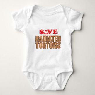 Radiated Tortoise Save Baby Bodysuit