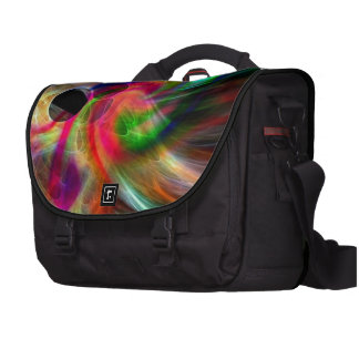 radiating colors, abstractly laptop commuter bag