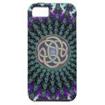 Radiating Fractal Mandala Grunge Celtic Knot iPhone 5 Cases