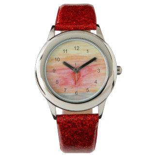 Radiating Heart Wristwatch