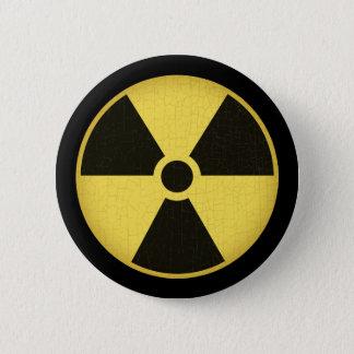 Radiation 1 pinback button