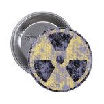 Radiation -cl-dist 2 inch round button