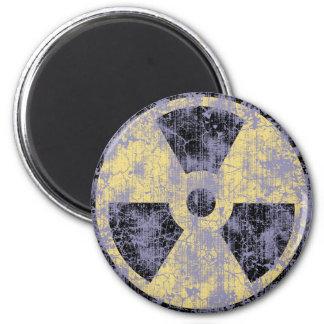 Radiation -cl-dist 2 inch round magnet