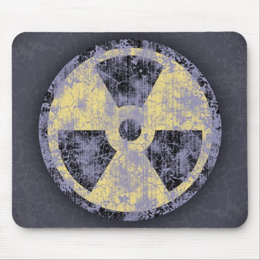 Radiation -cl-dist mouse pad