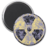 Radiation -cl-dist refrigerator magnets