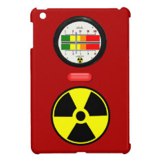Radiation Geiger Counter Effect Ipad Mini Case at Zazzle