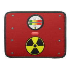 Radiation Geiger Counter Effect Macbook Pro 13 Macbook Pro Sleeve at Zazzle