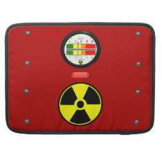 Radiation Geiger Counter Effect Macbook Pro 15 Sleeve For Macbook Pro at Zazzle