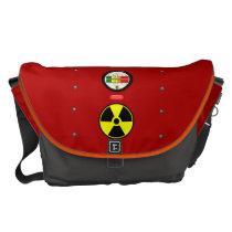 Radiation Geiger Counter Effect Messenger Bag L at Zazzle