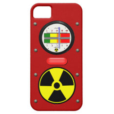 Radiation Geiger Counter Effect On Iphone 5 Case at Zazzle