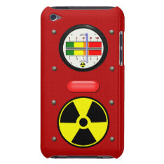 Radiation Geiger Counter Effect On Ipod Touch Case at Zazzle