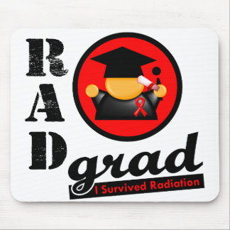 Radiation Grad BLOOD CANCER Mouse Pad