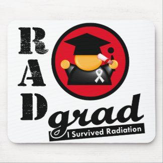 Radiation Grad BONE CANCER Mouse Pads