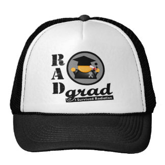 Radiation Grad BRAIN CANCER Hats