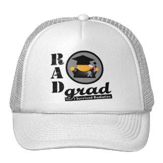 Radiation Grad BRAIN CANCER Trucker Hats