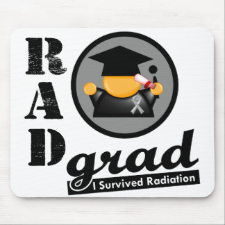 Radiation Grad BRAIN CANCER Mouse Pads