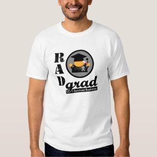 Radiation Grad BRAIN CANCER T-shirt