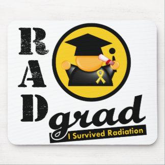 Radiation Grad CHILDHOOD CANCER Mouse Pad