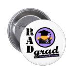 Radiation Grad GENERAL CANCER 2 Inch Round Button