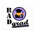 Radiation Grad GENERAL CANCER Postcard