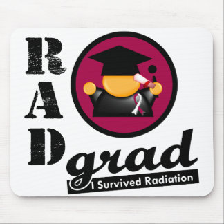 Radiation Grad HEAD AND NECK CANCER Mouse Pads