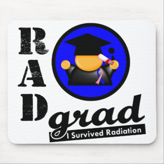 Radiation Grad MALE BREAST CANCER Mouse Pads