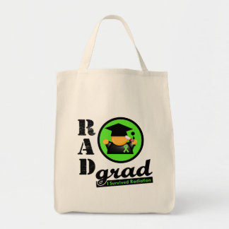 Radiation Grad NON HODGKINS LYMPHOMA Grocery Tote Bag