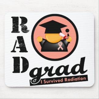 Radiation Grad UTERINE CANCER Mouse Pad