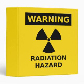 Radiation Hazard Binder