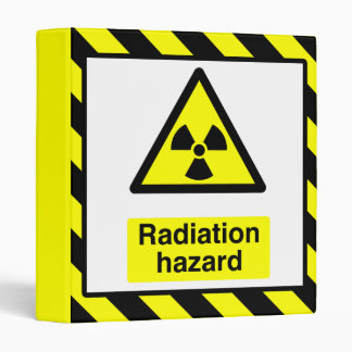 Radiation Hazard Binder
