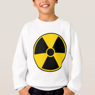 Radiation Hazard Sign Sweatshirt