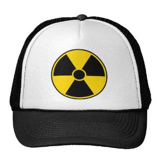 Radiation Hazard Sign Trucker Hat