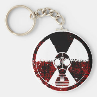 Radiation infected city (High) Keychain