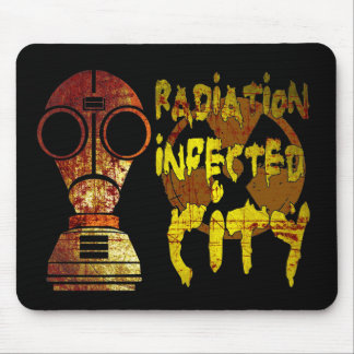 Radiation infected city (Low) Mouse Pad