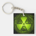 radiation keychain acrylic key chains