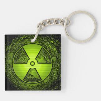 radiation keychain acrylic keychains