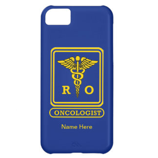 Radiation Oncologist Caduceus Shield Case For iPhone 5C